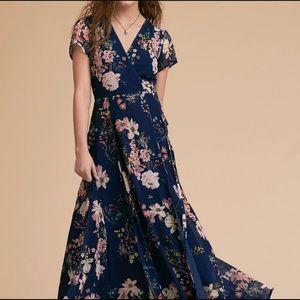 Yumi Kim floral maxi wrap dress